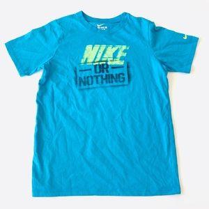 "Nike ""Nike or Nothing"" Graphic T-shirt   SZ Boy-M"